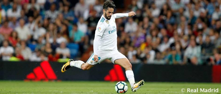 Isco es el máximo asistente madridista en la Liga