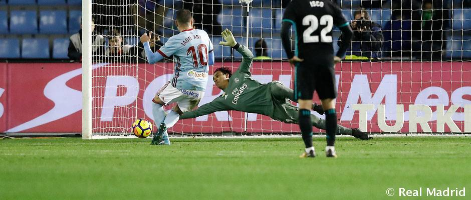 Keylor ha parado la mitad de los penaltis que le han lanzado en Liga con el Madrid