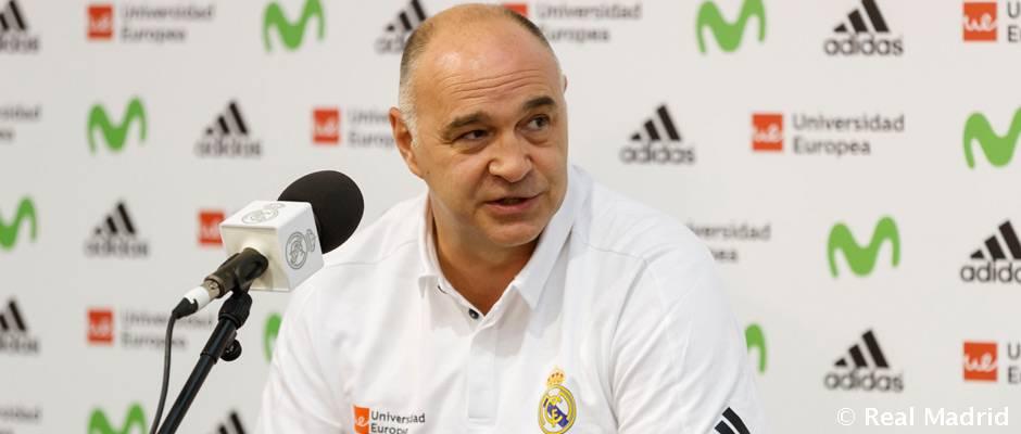 """Laso: """"Hay que respetar al Bilbao Basket desde el principio"""""""
