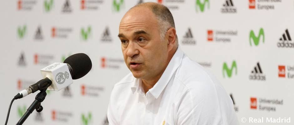 """Laso: """"Hay que poner la máxima energía contra el Gipuzkoa Basket"""""""