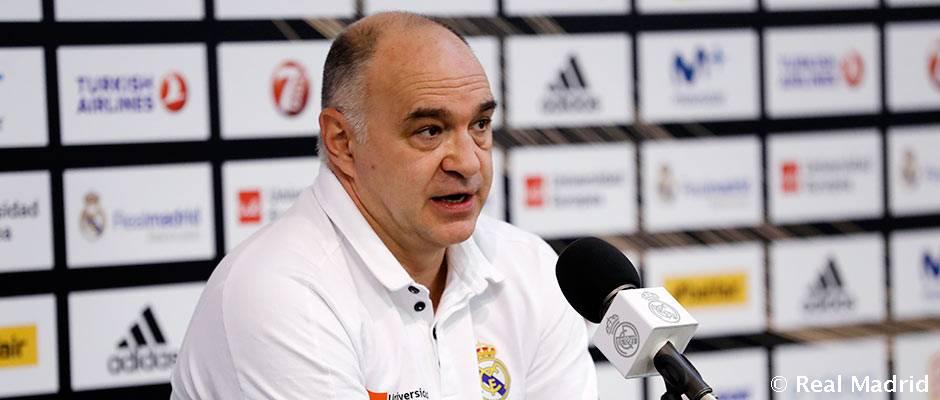 """Laso: """"Espero al mejor Baskonia porque es un gran equipo"""""""