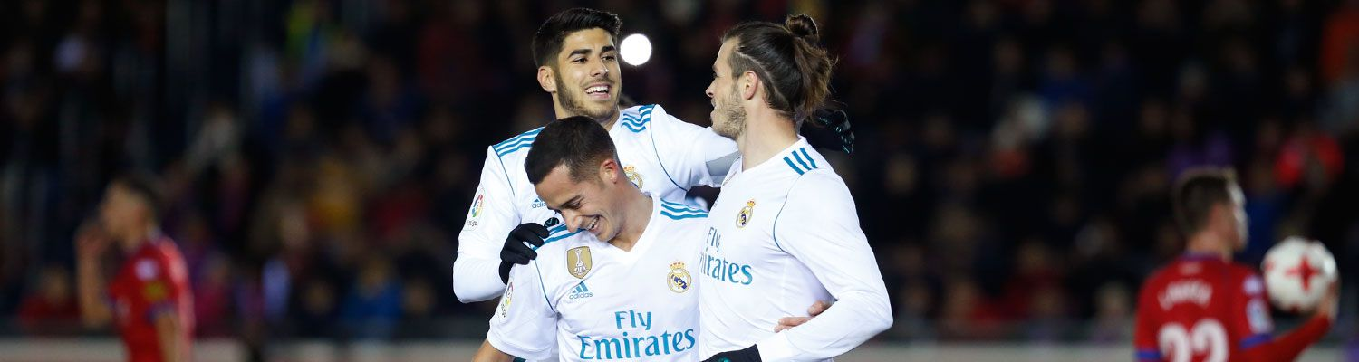 0-3: El Real Madrid encarrila la eliminatoria de octavos de Copa