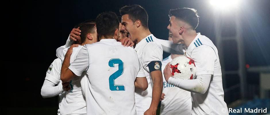 2-0: El Castilla se crece en el Di Stéfano