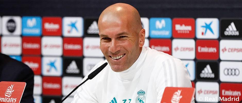 """Zidane: """"El Celta lo está haciendo bien y sabemos que será un partido difícil"""""""