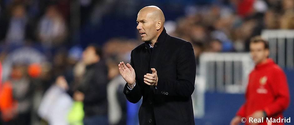 """Zidane: """"Hicimos un partido serio y obtuvimos un buen resultado"""""""