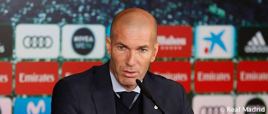 """Zidane: """"Los jugadores necesitaban un partido así"""""""