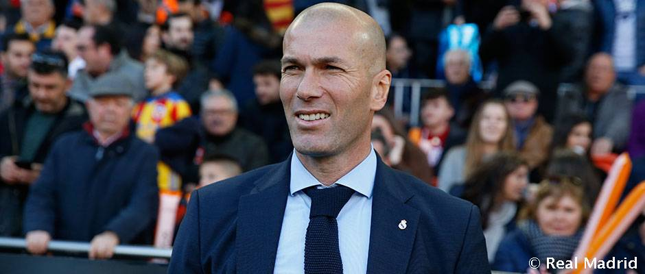 """Zidane: """"Hay que felicitar a los jugadores porque ganar 1-4 aquí no es fácil"""""""
