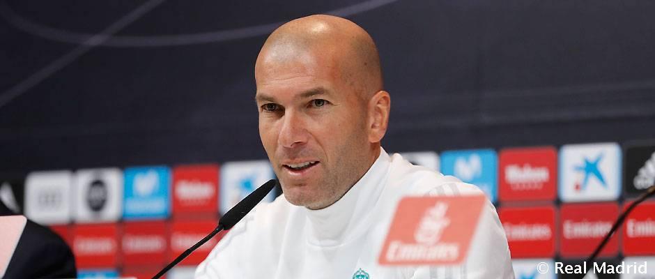 "Zidane: ""Vamos a pelear para cambiar esta situación"""