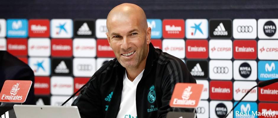 """Zidane: """"Vuelve la Copa del Rey y la afrontamos con la máxima ilusión"""""""