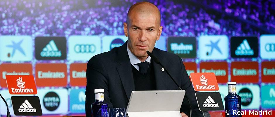 """Zidane: """"Ha sido un palo muy duro y asumo la responsabilidad"""""""