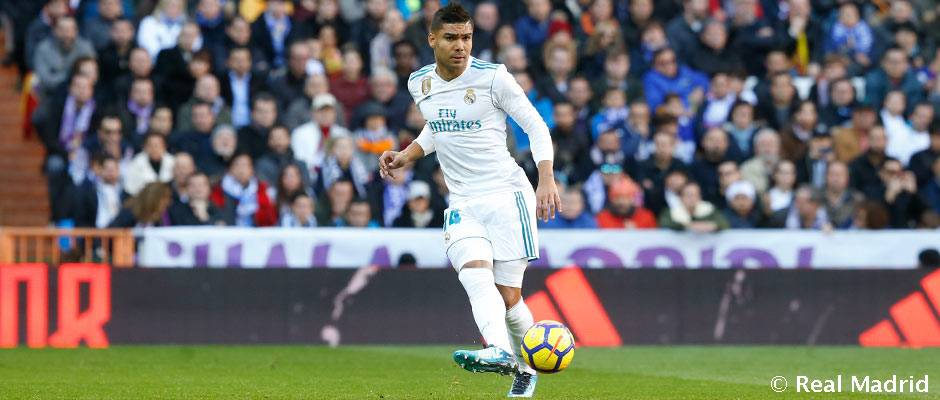 Casemiro, el jugador con más minutos del Real Madrid