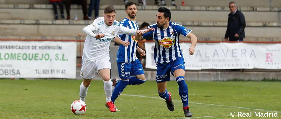 2-1: Injusta derrota del Castilla en Talavera de la Reina