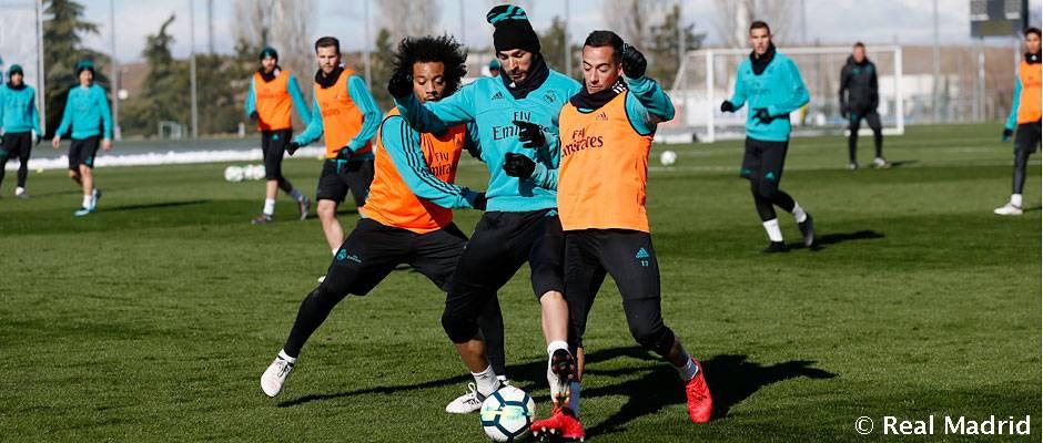 El equipo sigue preparando el partido ante la Real Sociedad