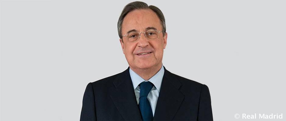 Florentino Pérez, elegido mejor CEO de España en 2017 por la revista 'Forbes'