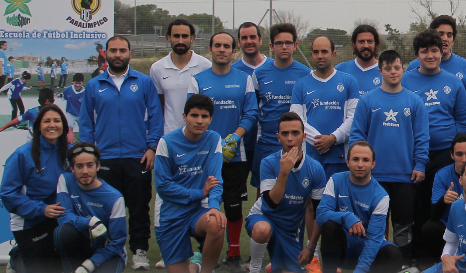 HÉRCULES PARALÍMPICO: Equipo y escuela de fútbol para personas con diversidad funcional