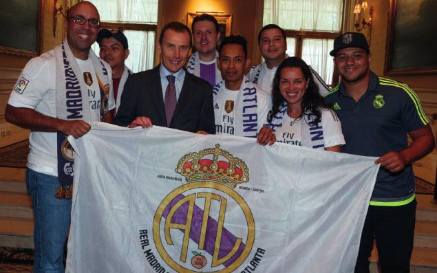 Peña Madridista Atlanta: Corazón blanco en USA