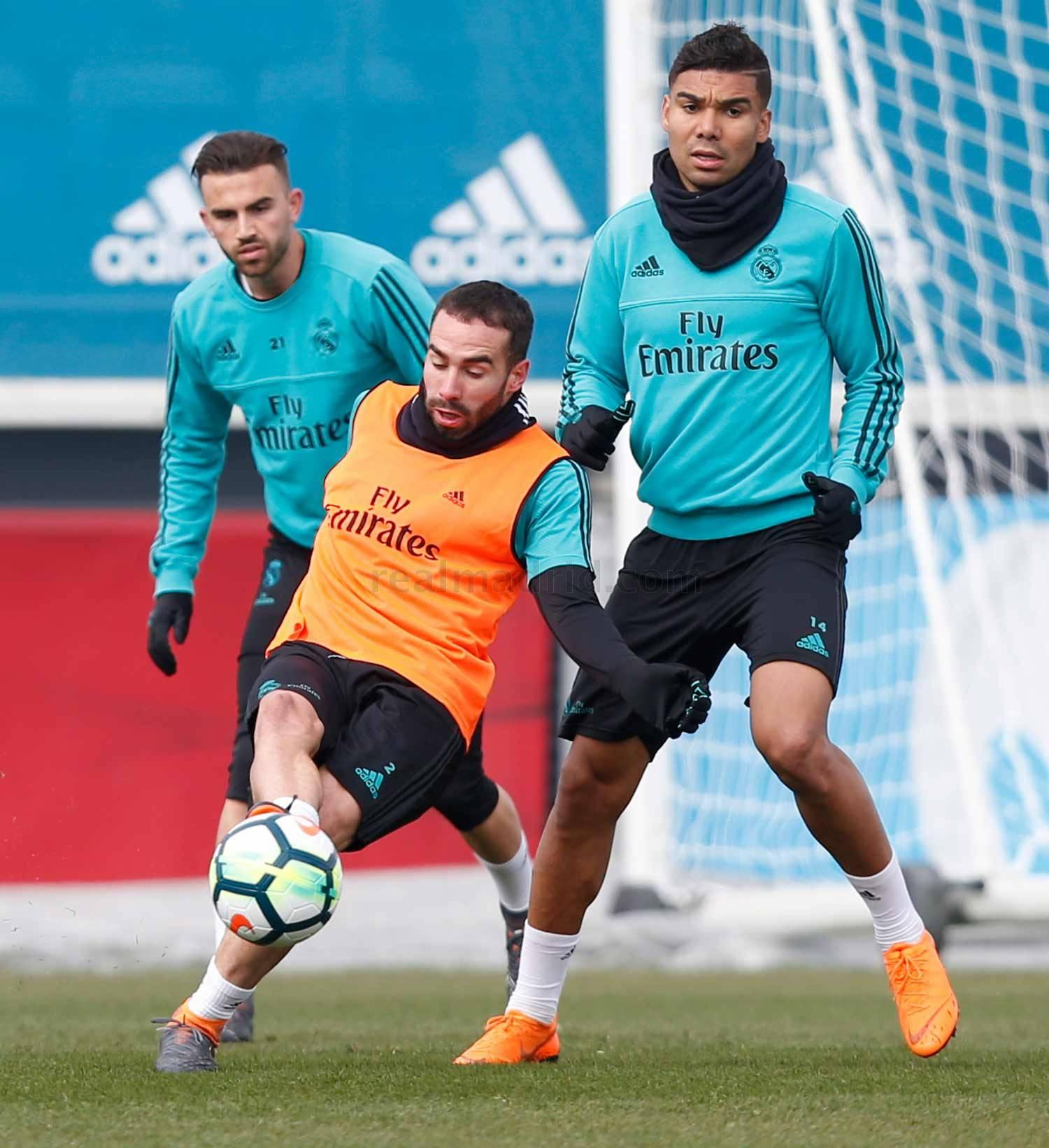 El Real Madrid comenzó a preparar el partido de Liga ante el Betis