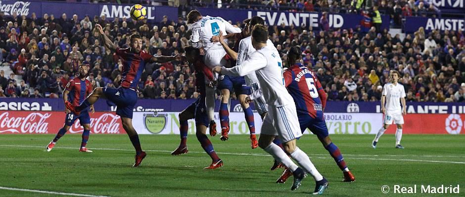 Sergio Ramos: 50 goles en Liga con el Real Madrid