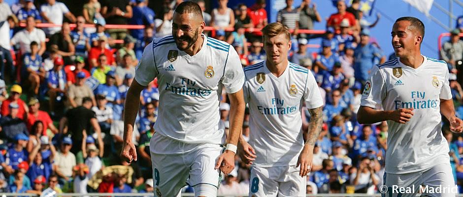 El Real Madrid-Getafe se jugará el sábado, 3 de marzo, a las 20:45 h