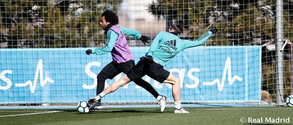 Tejero y Darío se entrenaron con el primer equipo