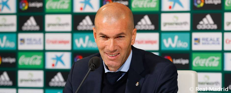 """Zidane: """"Me quedo con los cinco goles marcados"""""""