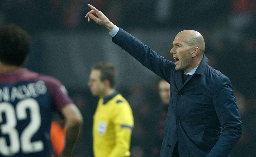 La talla de Zidane. Por @FGwynne