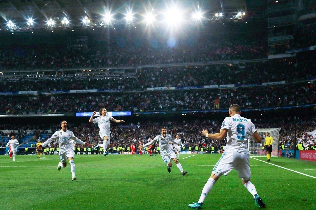 El Madrid se clasifica para Kiev tras un ejercicio de resistencia (2-2)