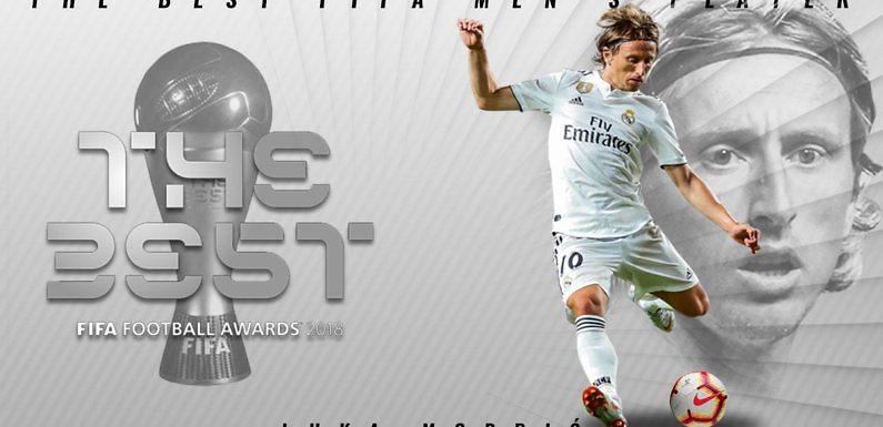Luka Modric es #TheBest