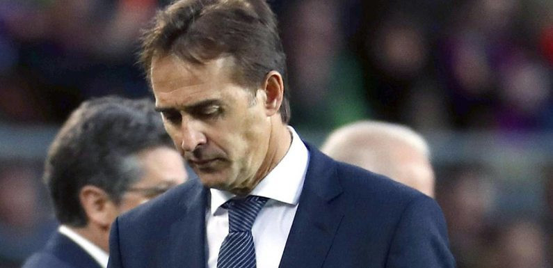 El Real Madrid destituye a Lopetegui