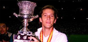 Míchel Salgado, ex lateral derecho de origen gallego del Real Madrid