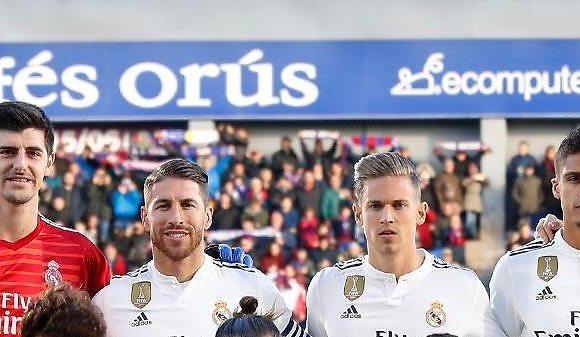 Courtois, Ramos y Varane, en busca de la defensa perdida