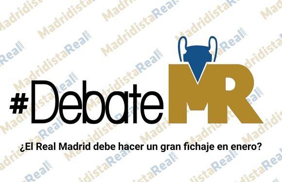 #DebateMR | ¿El Real Madrid debe hacer un gran fichaje en enero?