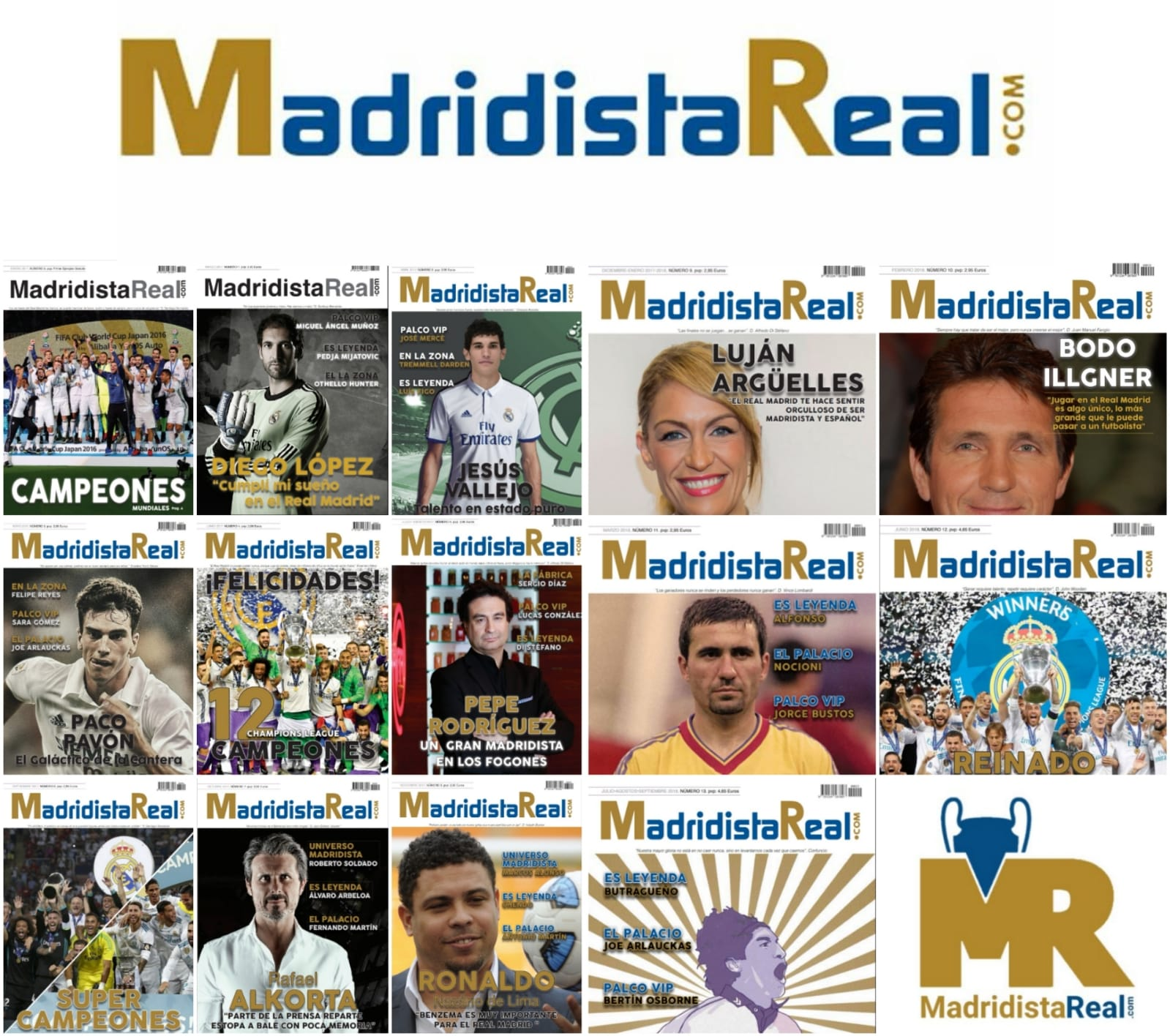 Revista Madridista Real en formato digital