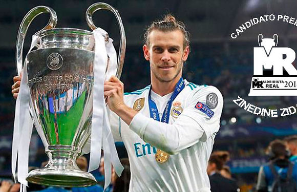 #PremioZidane   Candidato: Gareth Bale