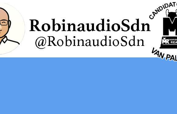 #PremioVanPalomaain   Candidato: @RobinAudioSdn