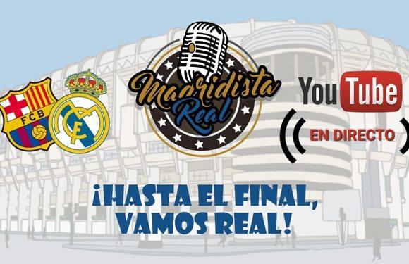 ¡Disfruta del Clásico de Copa con la narración de #MadridistaReal!