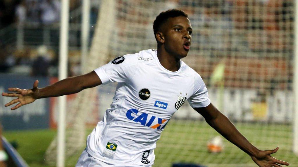 Rodrygo Goes nueva perla brasileña Real Madrid