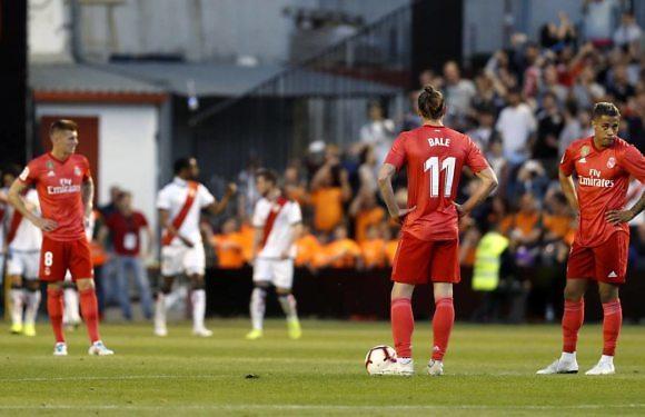 <h3 class='subtit' style='margin-top: -12px; color: #717171;'>Jornada 35 de Liga</h3> Minuto 93 | Rayo Vallecano 1 Real Madrid 0 (Liga 2018-2019)
