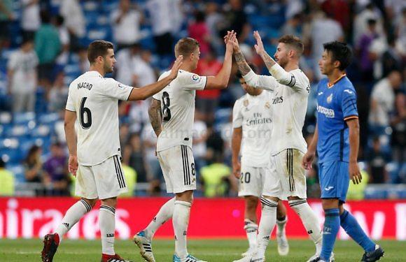 <h3 class='subtit' style='margin-top: -12px; color: #717171;'>Jornada 34 de La Liga Santander 2018/2019</h3> Getafe – Real Madrid  | A la caza del segundo puesto