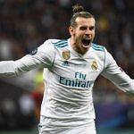 El delantero del Real Madrid, Gareth Bale, celebrando un gol en la final de la Champions League frente al Liverpool