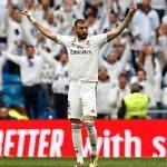 Hat-trick de Karim Benzema en el último partido del Real Madrid en Liga ante el Athletic