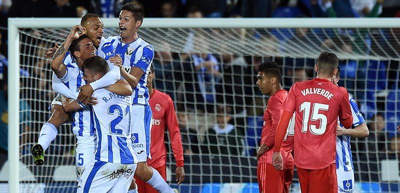 <h3 class='subtit' style='margin-top: -12px; color: #717171;'>Empate del Real Madrid en Butarque</h3> Minuto 93 | Leganés 1 Real Madrid 1 (Liga 2018-2019)