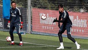 Portería Real Madrid Thibaut Courtois Keylor Navas