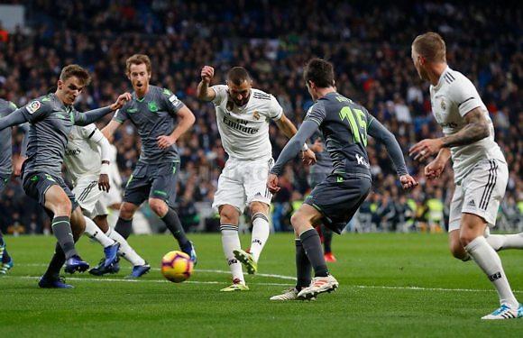 <h3 class='subtit' style='margin-top: -12px; color: #717171;'>Jornada 37 de La Liga Santander 2018/2019</h3> Real Sociedad – Real Madrid | El regreso de Karim Benzema