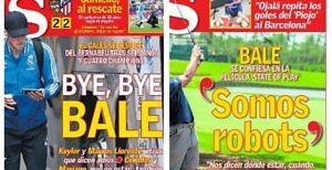 Bale, el golf portada AS criticas prensa Real Madrid