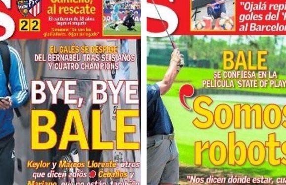 Blanco Y En Botella | Gareth Bale, el golf y los robots