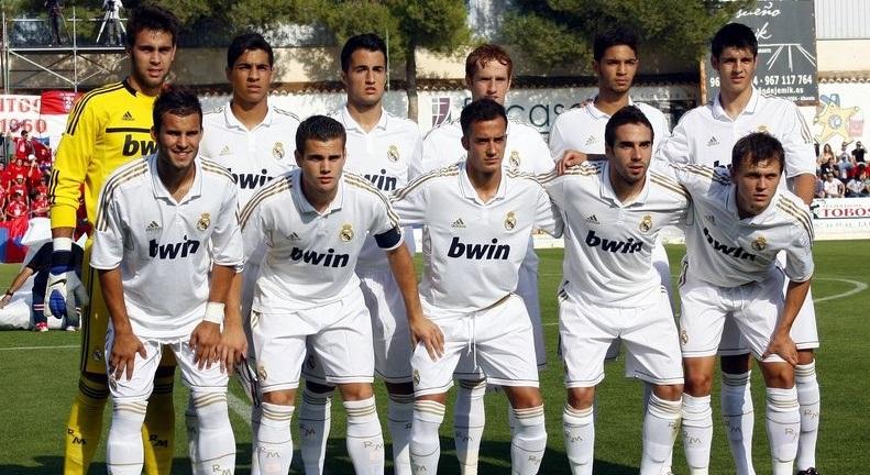 Once titular del Real Madrid Castilla durante la temporada 2011-2012