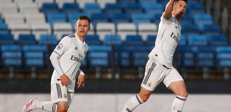 RM Castilla   El Castilla no se baja del playoff (3-0)