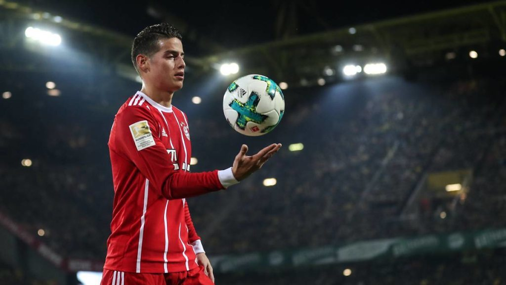 James Rodríguez Bayern Munich Real Madrid cesión