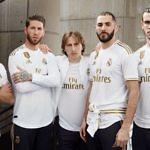 La reconstrucción Real Madrid nueva camiseta 2019-2020 Bale Benzema Modric Ramos